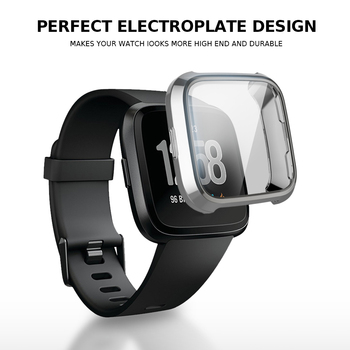 Cubierta de 360 grados para Fitbit viceversa caja Coque ajuste poco viceversa...