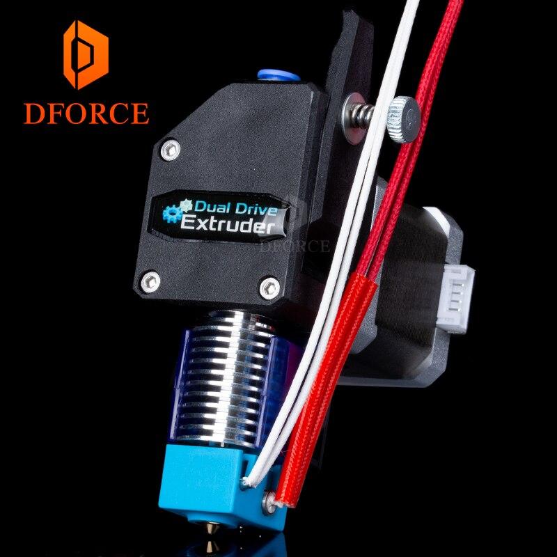 DFORCE MK8 Bowden Extrudeuse BMG extrudeuse + V6 HOTEND dual drive Extrudeuse pour 3d imprimante Haute performance pour I3 3D imprimante