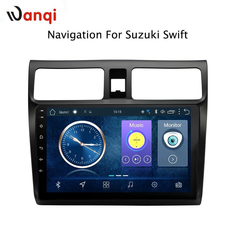 10,1 Zoll Android 8.1 Volle Touchscreen Auto Multimedia-system Für Suzuki Swift 2004-2010 Auto Gps Radio Navigation Elegantes Und Robustes Paket