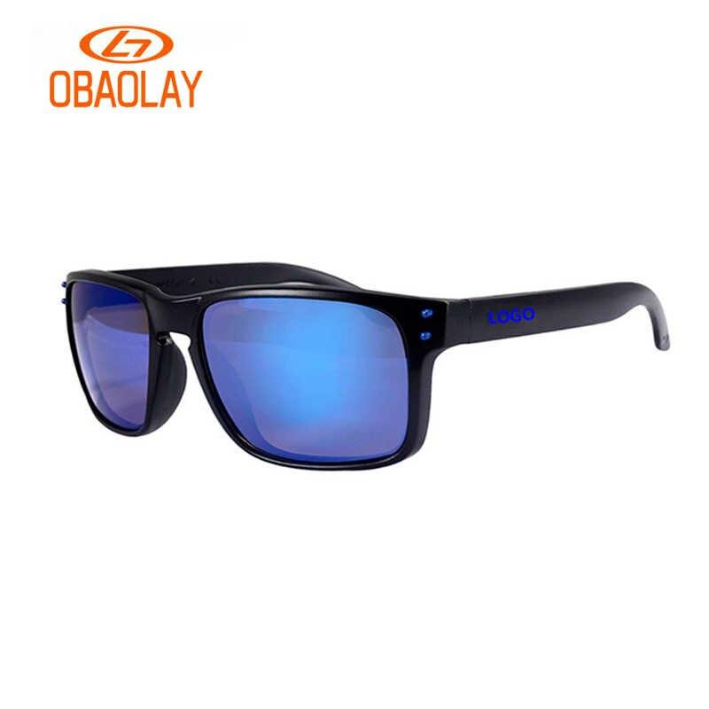 Marca OBAOLAY gafas de sol de moda de los hombres gafas de sol deportivas  de marco deb98da846d4