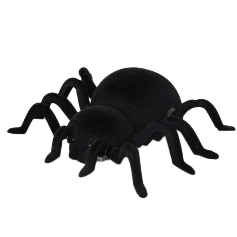 Keliwow Infrared Remote Control Climbing Wall Realistic Spider Rc Mischievous Insect Joke Scary Trick Toy