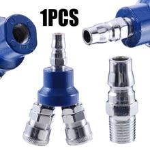 Высокая прочность 2 способ быстрый разъем c-тип 0,90 «воздушный компрессор коллектор мульти шланг муфта пневматические соединительные запчасти