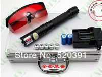 AAA High Power Military Blau laser pointer 500000 m 500 w 450nm Taschenlampe Brennen spiel/schwarz/brennen zigaretten + gläser SD Jagd-in Laser aus Sport und Unterhaltung bei