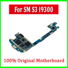 original unlocked logic board,europe version for samsung galaxy S3 i9300 motherboard with android system(China)
