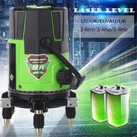 2 3 5 Lines 2 4 6 Points Outdoor Laser Level Self Leveling 360 Vertical&Horizontal Tilt Lazer Level Tripod Level