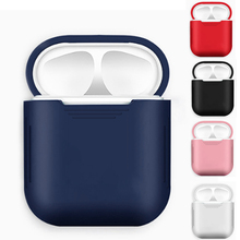 Colorful Soft TPU Silicone cover protection case For airpods earphone charging box For