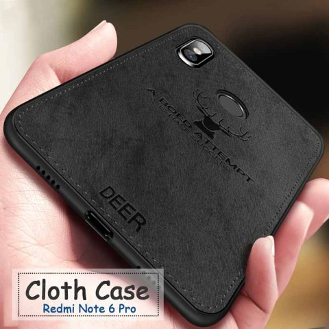 Shockproof Deer Cloth Cases For Xiaomi Redmi note 8t 6 7 8 Pro go 6 6a 7a Back Cover on xiomi mi 9t 9 a2 lite a3 Protective Case Pakistan