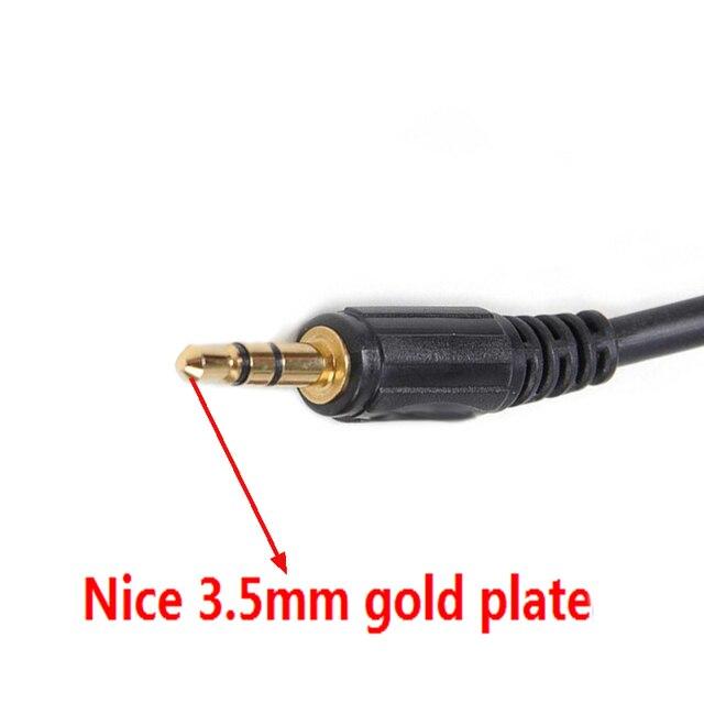 Biurlink coche Aux de 3,5 MM Cable de MP3 adaptador de Audio para Peugeot 307, 308, 408, 407, 507 Sega triunfo Citroen C5 C2 RD4