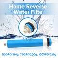 75/100/125 осмотическая мембрана gpd для 5-ти ступенчатый фильтр для воды очиститель лечения система обратного осмоса