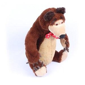 Image 2 - Russian Musical Masha Doll* Bear Plush Stuffed Toys and the Brand Educational For Boys Girls Birthday Christmas New Year Gift