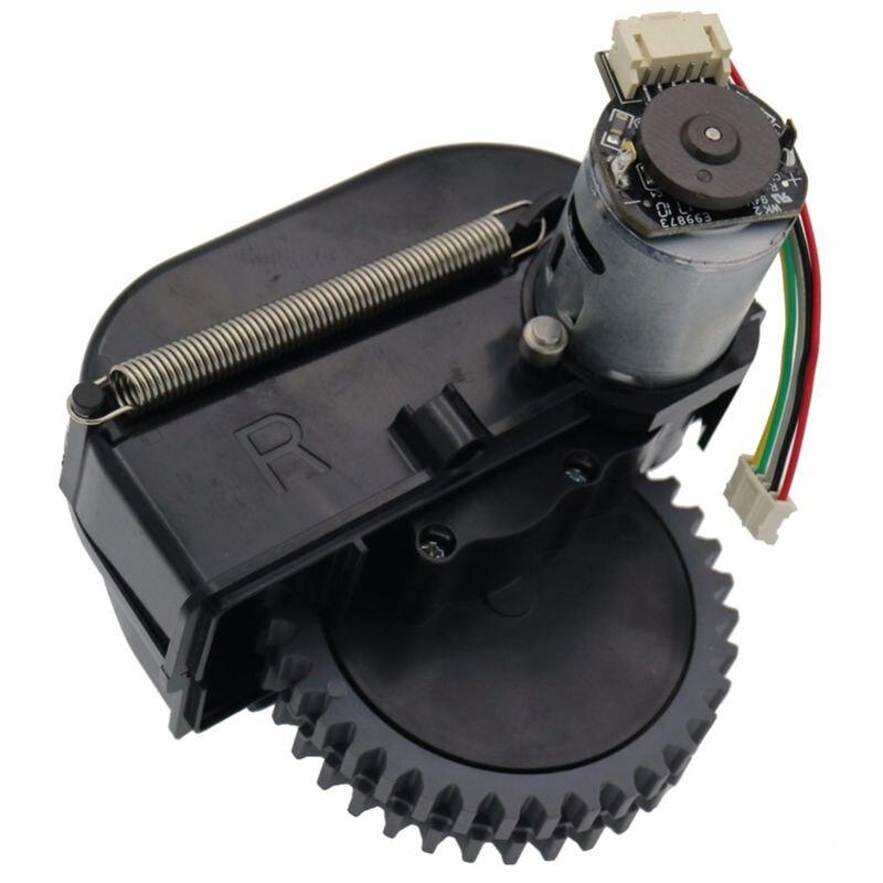 Rueda derecha piezas de robot aspirador accesorios para ilife V3s pro V5s pro V50 V55 robot aspiradora ruedas motores