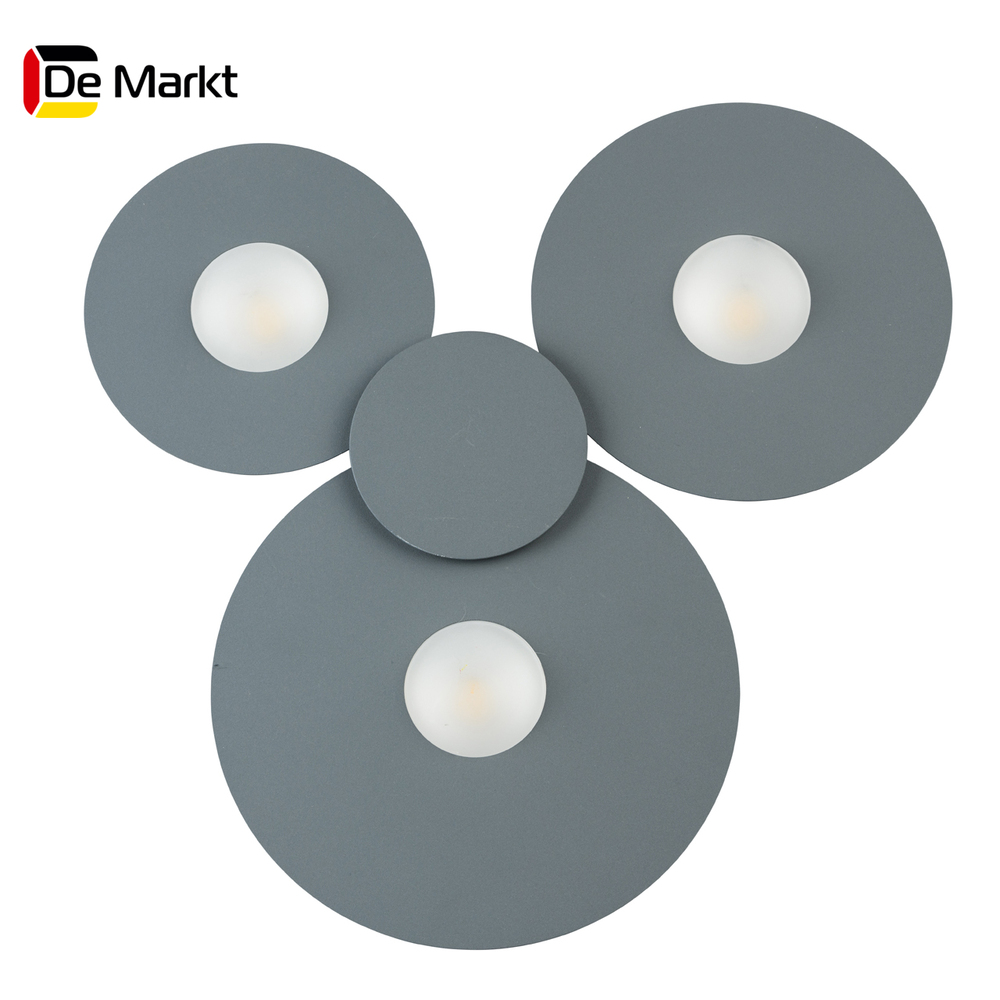 Wall Lamps De Markt 637017903 lamp Mounted On the Indoor Lighting Lights Chandelier led wall sconce modern wall lamp decorative wall lights decorative sconces led bedside lamp wall makeup mirror lights bathroom