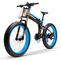 Electric Scooter 1000W Two Wheels Electric Bicycle 500W 48V 10AH/14.5AH Portable Folding Powerful Electric Bike For Adults