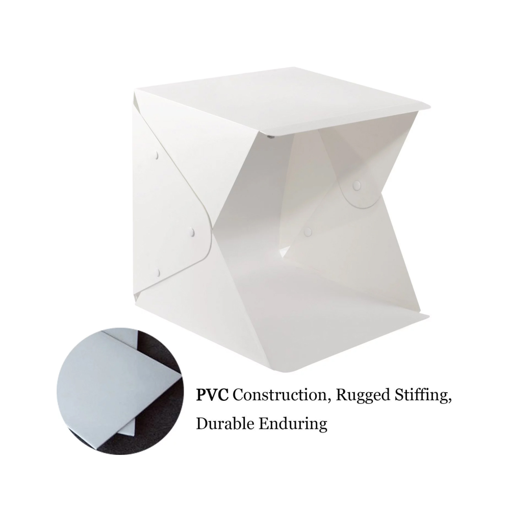 Reasonable Jmfoto 24cm Mini Folding Lightbox Photography Studio Softbox Led Light Soft Box Camera Photo Background Box Lighting Tent Kit Camera & Photo Accessories