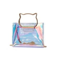 Small Women Messenger Transparent O Hand Clutch Bag Handbag Bags Bolsa Feminina Bolsos Mujer Bolsas Tassen Bolso Handbags Tas Vs