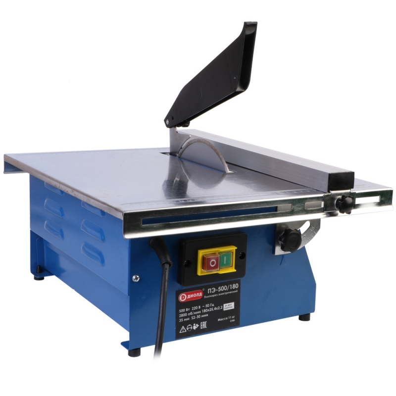 Table electric tile cutter Diold PE-500/180 цена и фото