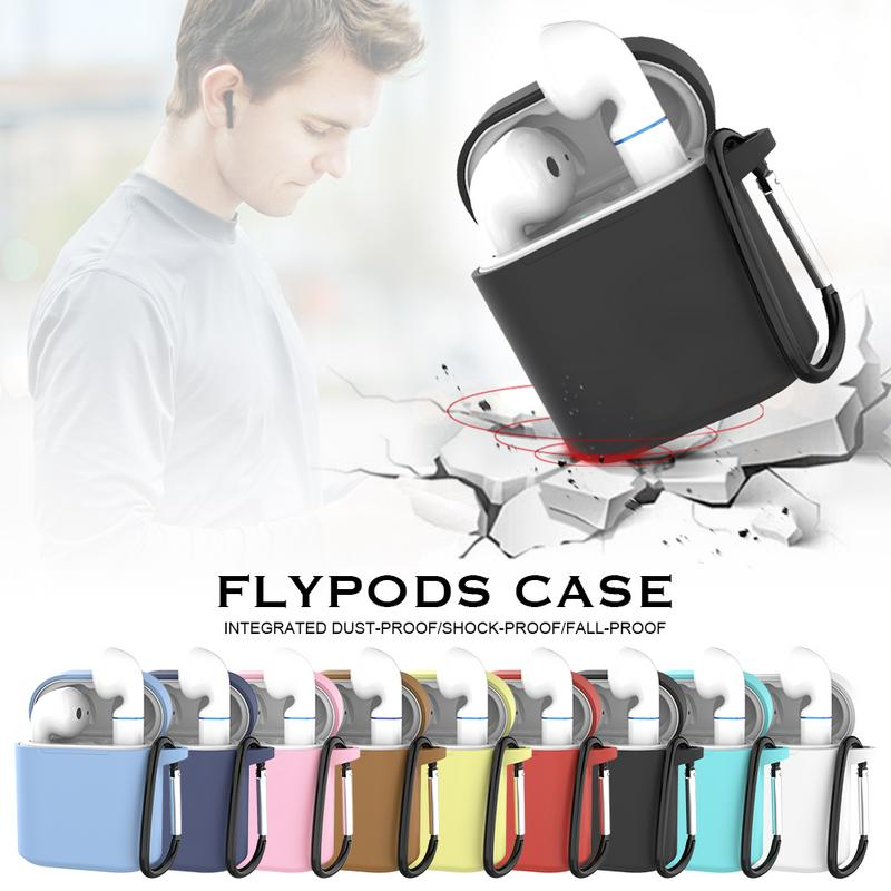 Image 5 - Silicone Soft Protective Case Wireless Headset Earphone Cover Anti fall Scratchproof Bag For Huawei Flypods/Flypods Pro Freebuds-in Earphone Accessories from Consumer Electronics