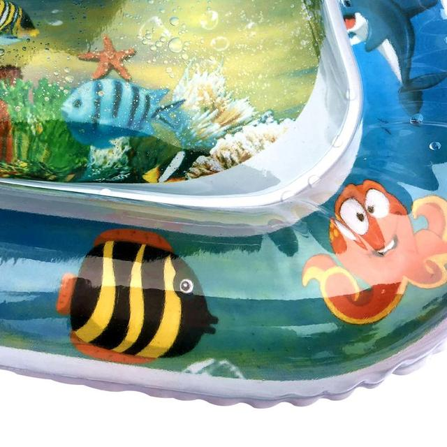 2019 Creative Dual Use Toy Baby Inflatable Patted Pad Baby Water Cushion Prostate Water Cushion Pat toy SGS certification 2