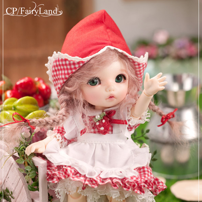 Envío gratis Fairyland Pukifee Ante 1/8 BJD muñecas figura de - Muñecas y accesorios