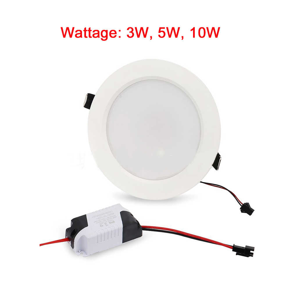 3w 5w 10w Down Remote Control Bedroom Round Dimmable Fixture Ceiling Light Slim Recessed Lamp Spotlight Bulb Rgb Led Panel Back To Search Resultslights & Lighting