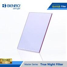 Benro 100*100mm 150*150mm maître vraie nuit filtre carré Plug filtres nuit ciel photographie étanche verre optique gratuit
