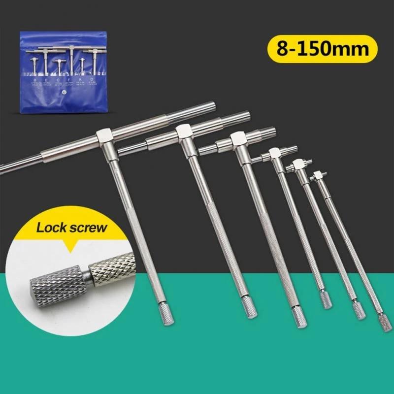 Telescopic Gauge Set Micrometer Measurement Bore Engineer Tools Set Kit Gauge