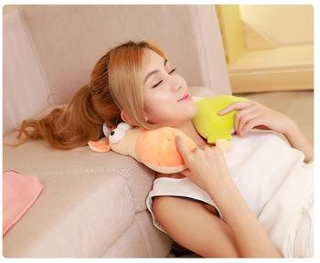 Ich Ruhe Massagegerät | Cartoon U Geformte Kissen Kissen Neck Schutz Kissen Auto Reise Massage Kissen Kissen Neck Unterstützung Kopf Rest Kissen