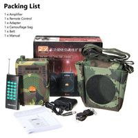 48W Electric Hunting Decoy Speaker Bird Caller Predator Sound MP3 Player Bird Trap with Remote Control Voice Traps Camouflage