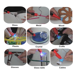 Image 4 - VISBELLA 5 Zweiten Fix UV Licht Stift Kleber Super Powered Flüssigkeit Kunststoff Klebstoff für Metall Holz Keramik Glas Reparatur Hand werkzeug Sets