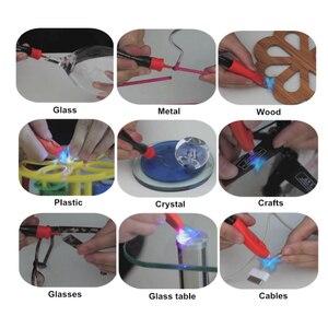 Image 4 - Visbella 12g paquete grande con 8g de relleno Líquido botella De Plástico De Soldadura Luz UV Pegamento pegamento 5 Segundo Fijar sellar rápidamente y reparar