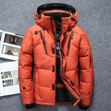 Zollrfea (High) 저 (Quality White Duck 두꺼운 Down Jacket Men Coat 눈 파카 남성 Warm 옷 Winter Down Jacket 겉 옷 CA0292(China)
