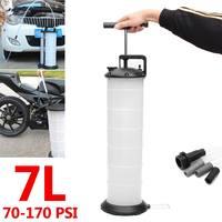 7L Manual Vacuum Oil Fluid Extractor Pump Oil Liquid Changer Container Car Boat Fuel Petrol Transfer Tank Hand Remover Tools