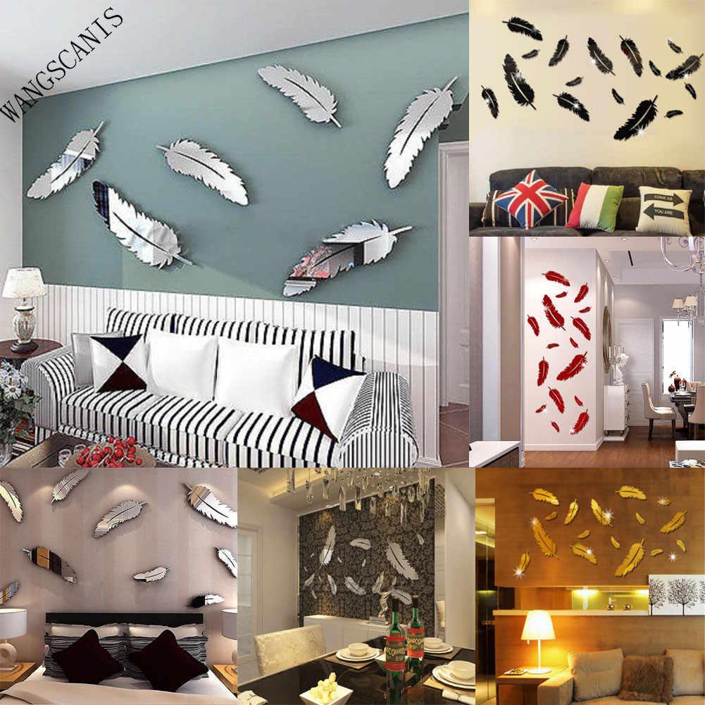 3D extraíble de pared pegatina vinilo artístico DIY etiqueta para niños casa habitación decoración Mural pared papel pintado pared Decoración