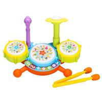 Children Instrument Toy ABS Funny Beats Drum Set Kids Learning Toddlers Educational Musical Toys For Children