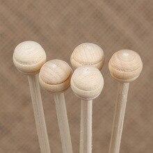 Lychee Life 10 шт. деревянный шар Рид диффузор не огонь ротанга DIY украшение для дома ручной работы простой стиль ротанга