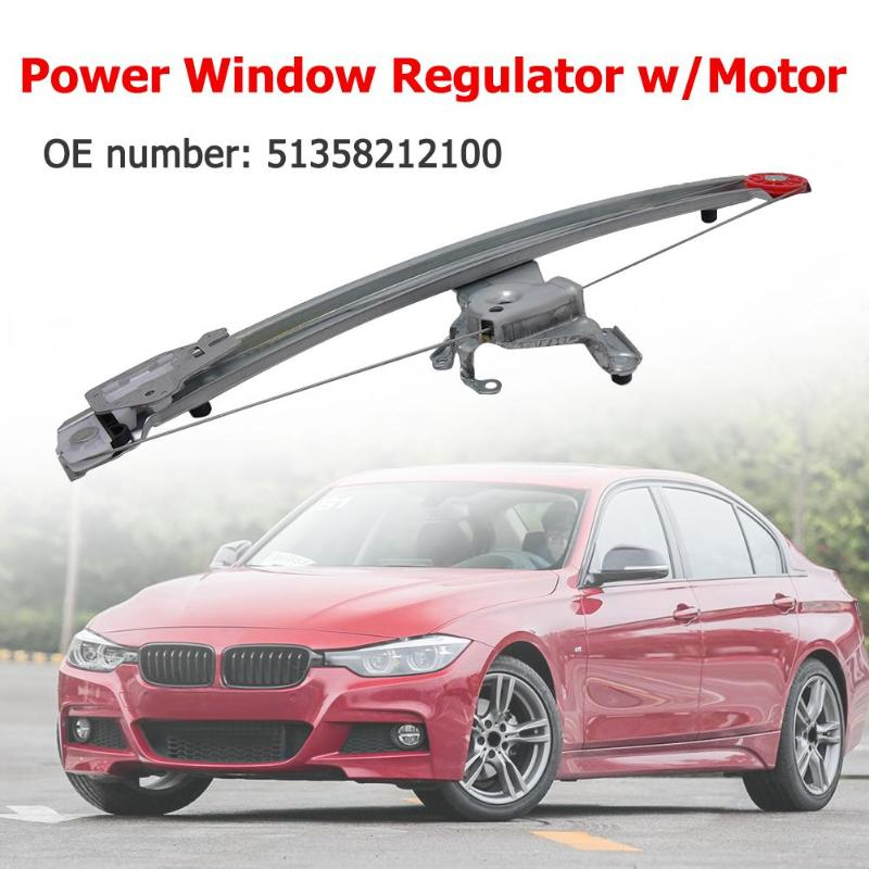 Rear Right Power Window Regulator W/Motor 51358212100 For BMW 3 Series E46