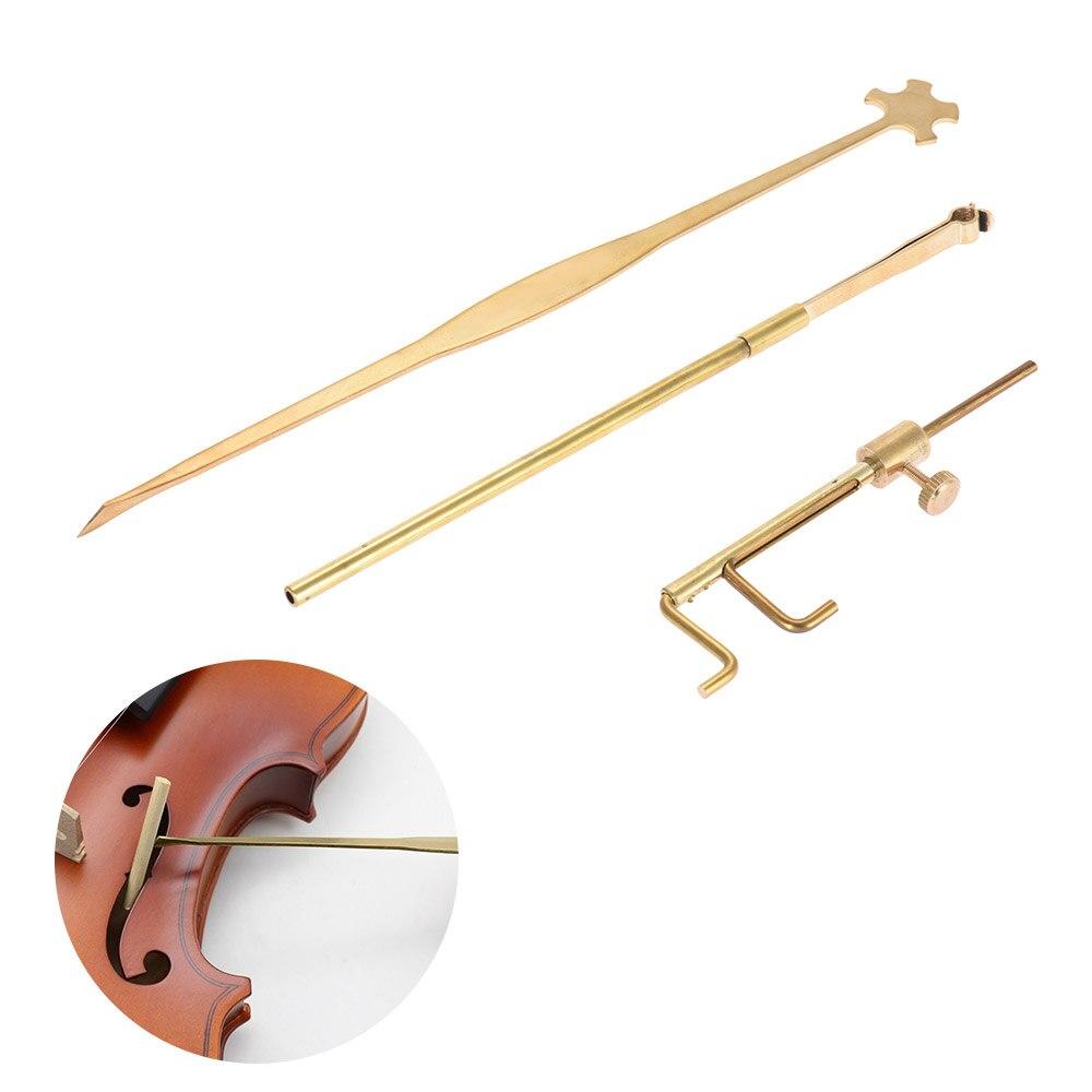 Violin Parts & Accessories Violin Luthier Tools Kit Set Sound Post Gauge Post Gauge Measurer Retriever Clip SetViolin Parts & Accessories Violin Luthier Tools Kit Set Sound Post Gauge Post Gauge Measurer Retriever Clip Set