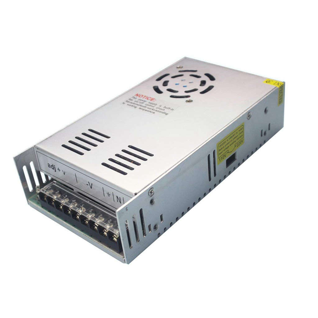 360W Switching <font><b>Power</b></font> <font><b>Supply</b></font> <font><b>24V</b></font> <font><b>15A</b></font> AC-DC Converter Transformer for 3D Printer CCTV Surveillance LED Display Industrial Auto image