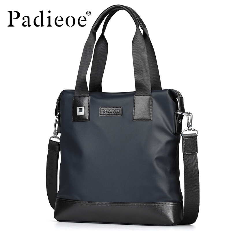 Padieoe Men Bag Briefcase  Computer Bag Messenger Handbag  Jobs Waterproof  Canvas