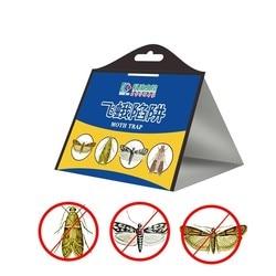 Эффективная ловушка для мушек, ловушка для борьбы с вредителями, Отпугиватель молей, насекомых, семейный завод, ресторан, 10 шт./лот