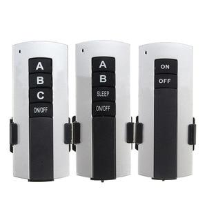 Image 4 - لاسلكي 200 فولت 240 فولت LED مصباح السقف ON/OFF التتابع مفاتيح استقبال 1/2/3 طرق مفتاح بالتحكم عن بعد