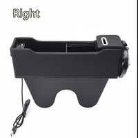 Right Side Car Organizer Seat Crevice Storage Bag Auto Phone Holder Pouch Gap Key Cigarette Wallet Stowing Tidying