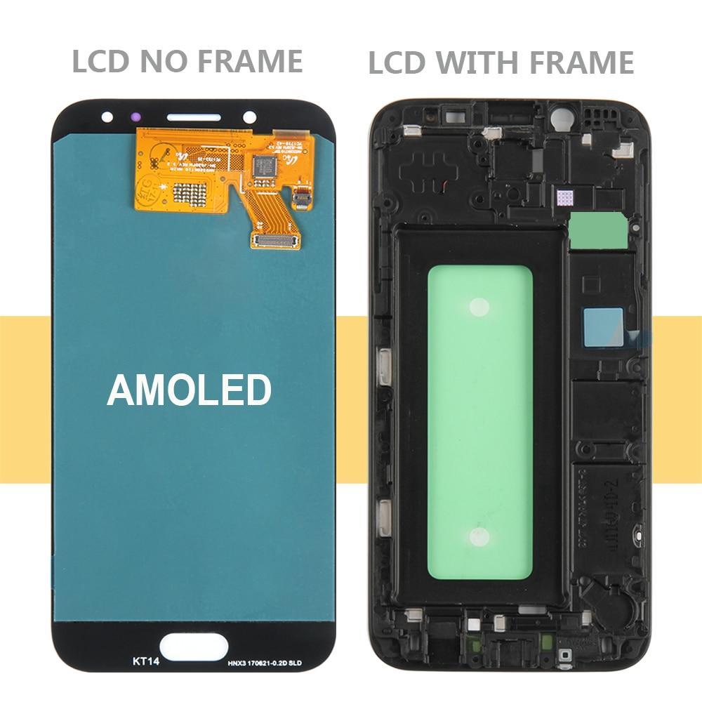 Écran AMOLED pour Samsung GALAXY J5 2017 J530 affichage J530F LCD J530F affichage tactile numériseur verre cadre d'assemblage J5 2017 LCD - 2
