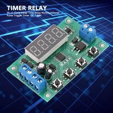 цена на YF-11 Cycle Delay Timer Relay Multifunctional Pulse Trigger Timer DC 7-24V Timing Delay Relay