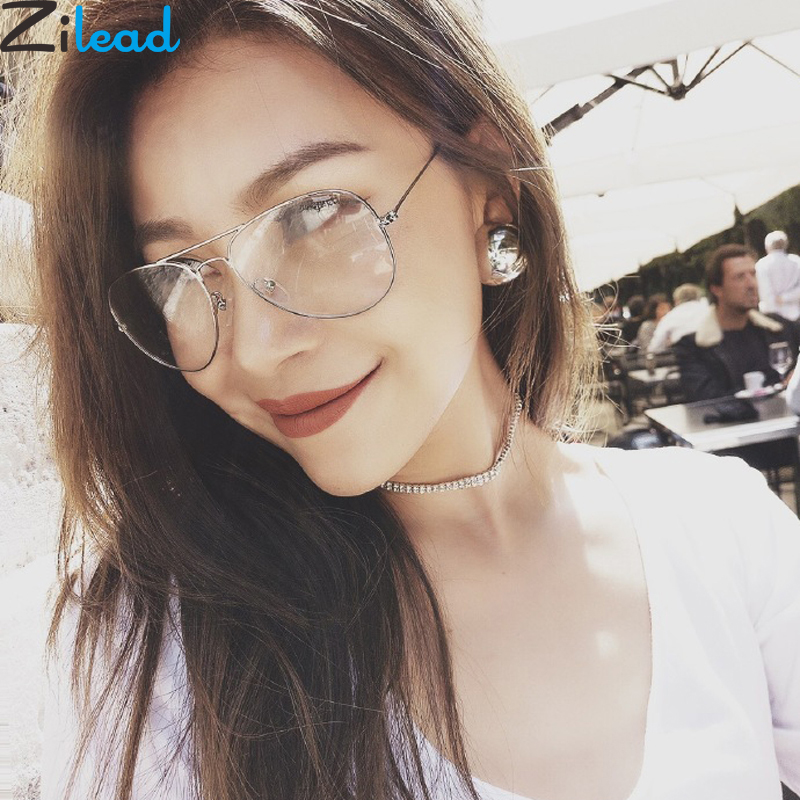 Zilead Metal Finished Myopia Glasses For Women&Men Pilot Nearsighted Glasses Driving Shortsighted -1.0to-4.0 Unisex