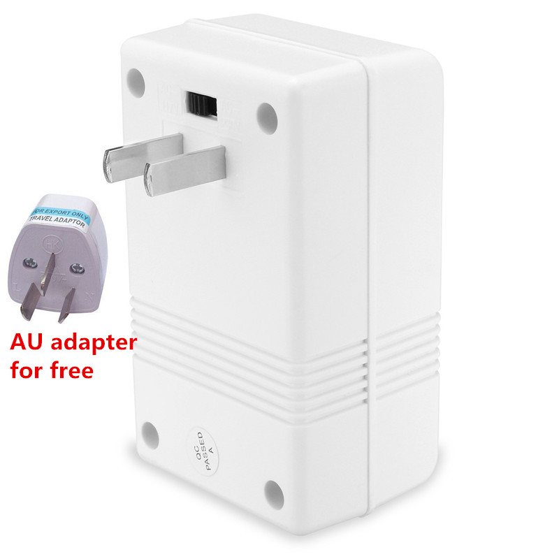 Dual Channel Voltage Converter Professional 220/240 To 110/120 Power Voltage Converter New White TravelDual Channel Voltage Converter Professional 220/240 To 110/120 Power Voltage Converter New White Travel