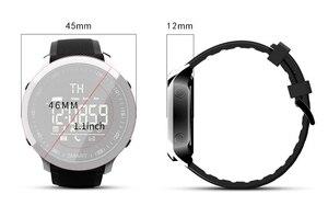 Image 2 - Lokmat MK18 Intelligente Della Vigilanza di Sport LCD Impermeabile Contapassi Messaggio di Promemoria BT di Nuoto Degli Uomini Smartwatch Cronometro per ios Android
