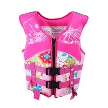 Forma la vida chaleco para niños chaqueta de vida para nadar Kayak vida  chaquetas chaleco Chico 2f3a5c4856c2
