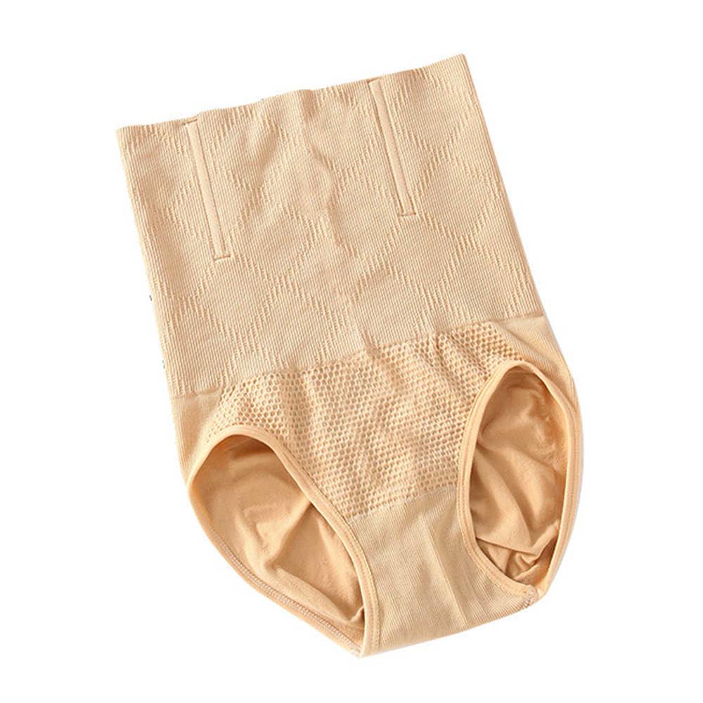 גבוהה מותניים לאחר לידה תחתוני מכנסיים קצרים תחתונים בעיצוב מכנסיים בטן Shapewear בצורת מכנסיים בטן תחתונים לנשים