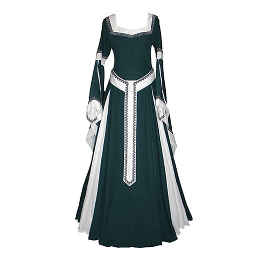 3a5abbf45 ... Classical Princess Vintage Uniform Medieval Costume Women Solid Cosplay  Suit Palace Queen Clothing Party Wear Female